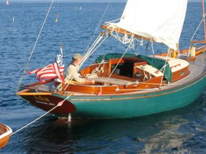 IDA is the sailboat we have stored away at home. She's for sale. Interested?