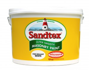 Lighthouse paint. See the picture on the label.