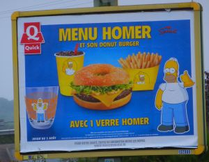 Homer, an American import loved by all in France.