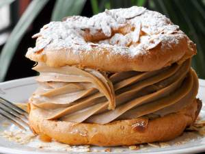 A Paris-Brest, found at pâtisseries all over France